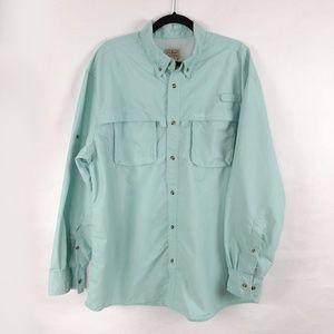 LL Bean Tropicwear Vented Shirt Mens X-Large